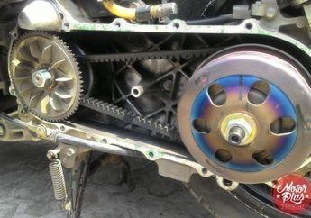 Modifikasi Part Standar, Tarikan Motor Matik Jadi Makin Cihuy!