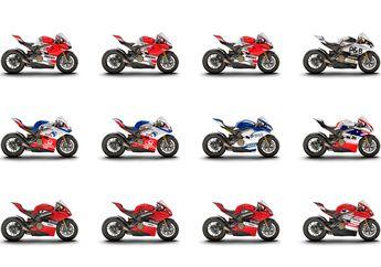 12 Desain Ducati Panigale V4 yang Akan Dipakai Pembalap Ini Keren Banget, Bakal Dilelang Juga