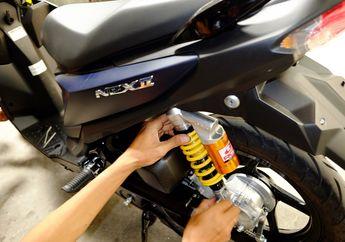 Cara Simpel Bikin Suzuki Nex II Lebih Kece dan Ganteng