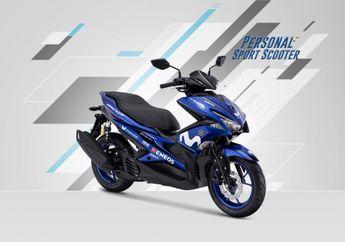 Kok Bisa? Banderol Yamaha Aerox Livery Yamaha MotoGP Lebih Murah dari Tipe R-Version Biasa
