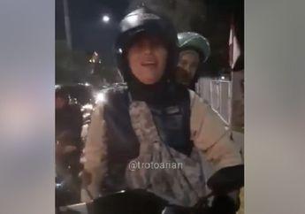 Brutal, Video Relawan Pejalan Kaki Dimaki dan Dipukuli Driver Ojol, Gara-gara Dilarang Lewat Trotoar