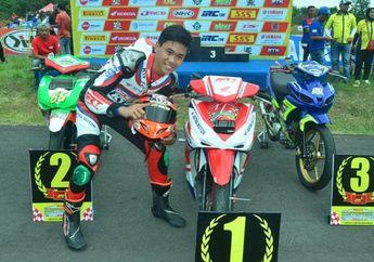 Bikin Melongo, Siswa SMP 4 Ciamis Ini Juara Kelas MP4 MotorPrix Tasikmalaya