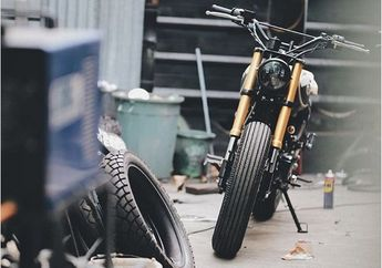 Wow, Jokowi Diam-diam Modifikasi Kawasaki W175 Miliknya di Katros Garage, Dikerjain Cuma 7 Hari