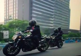 Bikin Geger Saat Pembukaan Asian Games 2018, Ini Spesifikasi Motor Misterius yang Dipakai Jokowi