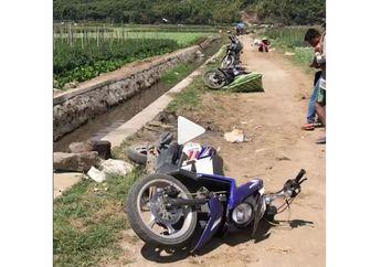 Sedih.. Video Motor Ditinggalkan Masyarakat Lombok yang Ketakutan Saat Gempa Tadi Siang