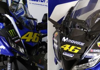 Tercyduck Dealer Yamaha Pajang All New R15 Livery Valentino Rossi
