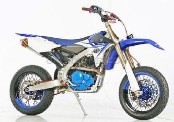 Gahar! Mesin Yamaha Scorpio Sukses Terpasang di Rangka YZ450F