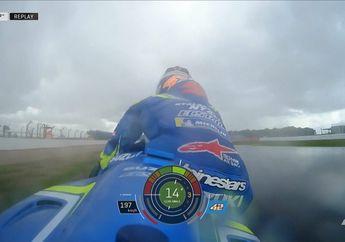 Kenapa Alex Rins Memilih Lompat dari Motor Ketika Jatuh di MotoGP Inggris?