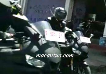 Motor Yang Terciduk Sedang Ditest Ini Diduga Yamaha R25 Baru, Kok Gak Sangar?