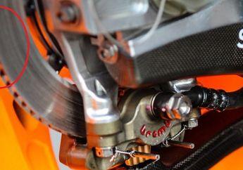 Pantas Bisa Menghindari Kecelakaan, Piringan Cakram Motor Marc Marquez Beda Banget, Mirip Cakram Mobil