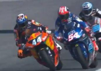 Hasil Kualifikasi Moto2 Thailand: Lorenzo Baldassarri Enggak Terkejar, Adik Marc Marquez dan Adik Valentino Rossi Tebar Ancaman