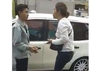 Viral, Video Perempuan Ngaku Polisi Maki-maki Pelajar yang Senggol Mobilnya, Minta Ganti Rugi Rp 1,5 Juta