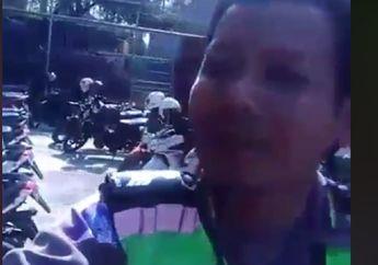 Viral, Video Pemotor Dikandangin Karena Telat Perpanjang STNK