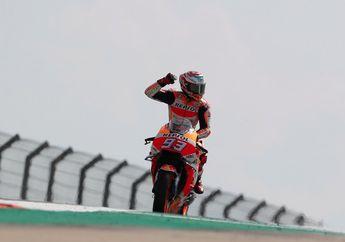 Hasil Balap MotoGP Thailand 2018: Marquez Menggila, Dovizioso Finis Kedua, Valentino Rossi Kehabisan Tenaga