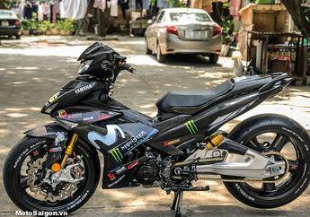 Ini Baru Modifikasi! Yamaha MX King Pakai Bodi Carbon Kevlar dan Kaki-kaki Ala MotoGP