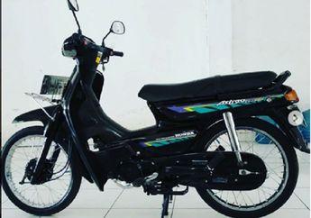 Wuih  Ada Lagi Nih Bro,  Honda Astrea Grand 1993 Masih Kinyis-kinyis Dijual, Siap Touring