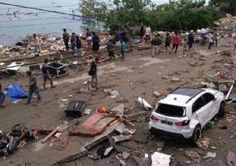 Berserakan Tak Bertuan, Motor dan Mobil Teronggok Rusak Pasca Gempa Palu, Warga Masih Ketakutan