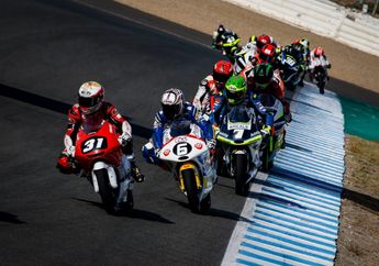 OtoRace: Gerry Salim Meningkat Di Race 2 FIM CEV Repsol Seri Jerez