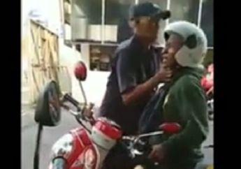 Gara-gara Rokok, Pemotor Ribut dan Lehernya Dicekik Satpam Pabrik di Solo, Enggak Ada yang Melerai