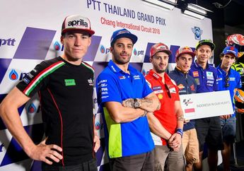 Mengharukan! 'Indonesia In Our Hearts' Jadi Bentuk Support Pembalap MotoGP Untuk Indonesia