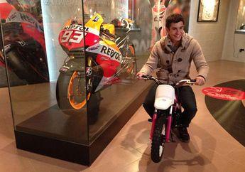 Genap Berusia 27 Tahun, Motor Pertama Marc Marquez Rupanya Bukan Honda Bro