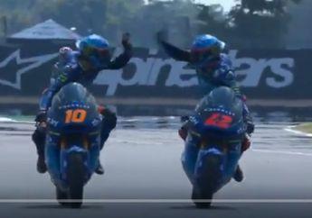Hasil Balap Moto2 Thailand: Murid dan Adik Valentino Rossi Berkuasa, Adik Marc Marquez Merana