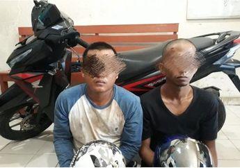 Modal Honda Vario 150, Dua Jambret Diringkus Polisi di Riau, Emas Senilai Rp 21 Juta Diamankan