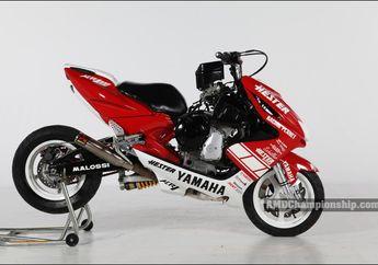 Buset! Top Speed Yamaha Aerox Ini Tembus 250 Km/Jam Berkat Pasang Mesin Moge