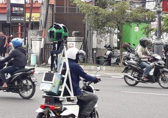 Begini Trik Google Merekam Jalan dan Gang Sempit di Bandung, Naik Motor Listrik