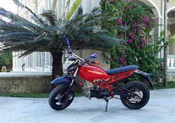 Sport Naked Ducati Enggak Kebeli, Honda Supra di Dandanin Ala-ala Monster