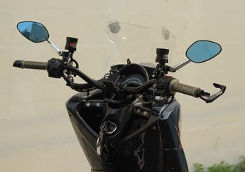 Waduh! Komponen Ini Bikin Setang Motor Yamaha Lexi Layaknya Vibrator