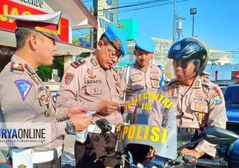 Waduh! Melanggar Peraturan, Tiga Polisi Terjaring Operasi Zebra  2018