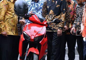 Ratusan Motor Listrik Gesits Sudah Dibooking Presiden Jokowi, Untuk Apa Ya?