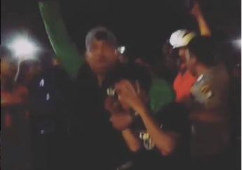 Mencekam, Proses Evakuasi Maling Motor di Slipi, Polisi Lepaskan Tembakan Peringatan