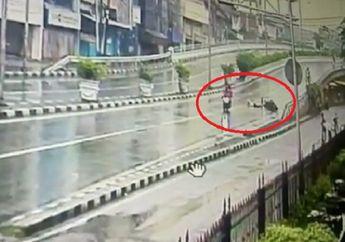 Biadab! Jambret Kembali Berulah di Fly Over Jembatan 5, Korban Terseret di Tengah Jalan