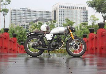 Enggak Culun Lagi, Suzuki Thunder 125 Mendadak Jadi Cafe Racer, Siap Sunmori