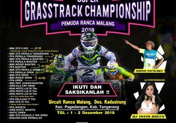 OtoRace: Kejuraan Super Grasstrack Pemuda Ranca Malang Open 2018, Pede Starter di Luar Target