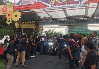 HDCI Indonesia Rally, Turing 7.000 KM Finish di IIBG 2018 Medan