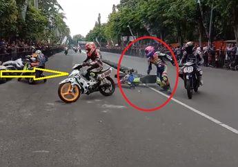 OtoRace: Video Pembalap Adu Jotos Saat Balap Berlangsung di Bojonegoro