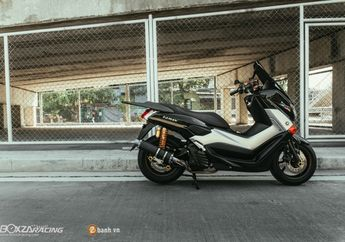 Modifikasi Simpel, Yamaha NMAX Ini Tampil Lebih Menawan dari Versi Standar