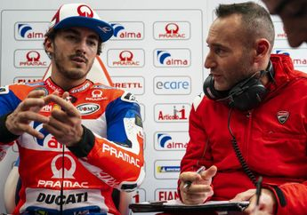 Balap MotoGP 2019 Belum Digelar, Beban Fransesco Bagnaia Sudah Terasa Berat