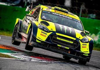 Terpuruk di MotoGP, Valentino Rossi Juara Monza Rally Show 2018