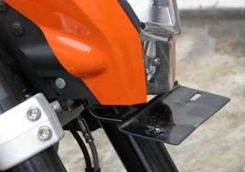 Bikin Pegangan Pelat Nomor Depan KTM Duke 200
