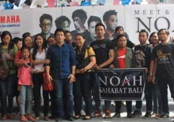 Bali Rayakan Valentine Bersama Noah Reborn Tour dan Injeksi Yamaha
