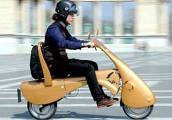Moveo Foldable Electric Scooter, Konsep Matik Lipat