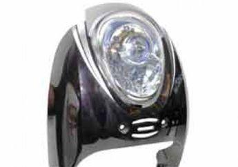 Pasang Headlamp Honda Scoopy FI di Scoopy Karbu, Projector Bikin Cantik