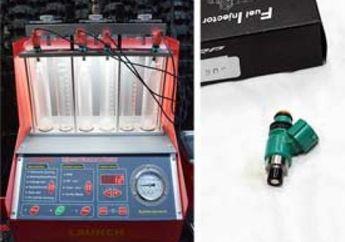 Membuktikan Peningkatan Debit Semprotan Bensin Dari Injektor SRP