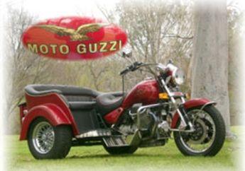 Moto Guzzi Lemans 850 (Italia), Trike Untuk Produk Masal