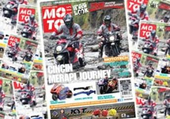 Journey Cincin Merapi, Test Shooter FI juga Virus Honda Monkey