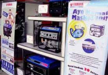 Bukan Hanya Sepeda Motor, Yamaha Indonesia Kini Pasarkan Genset